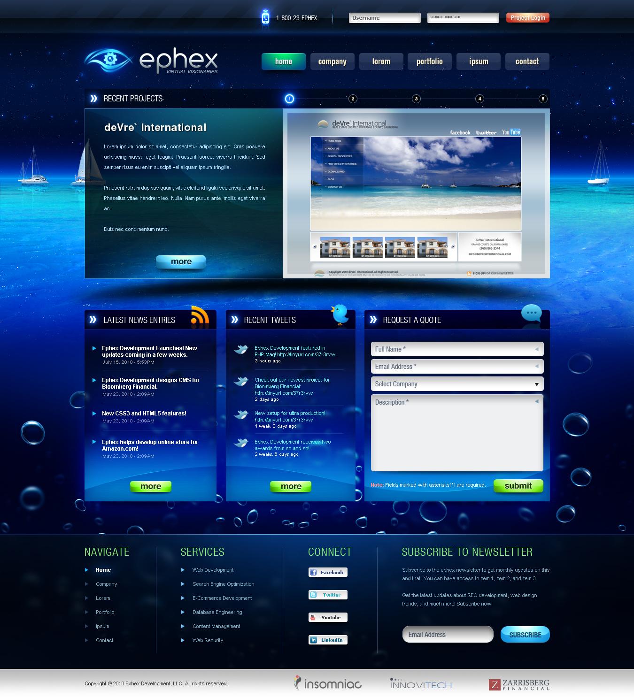 Ephex Homepage