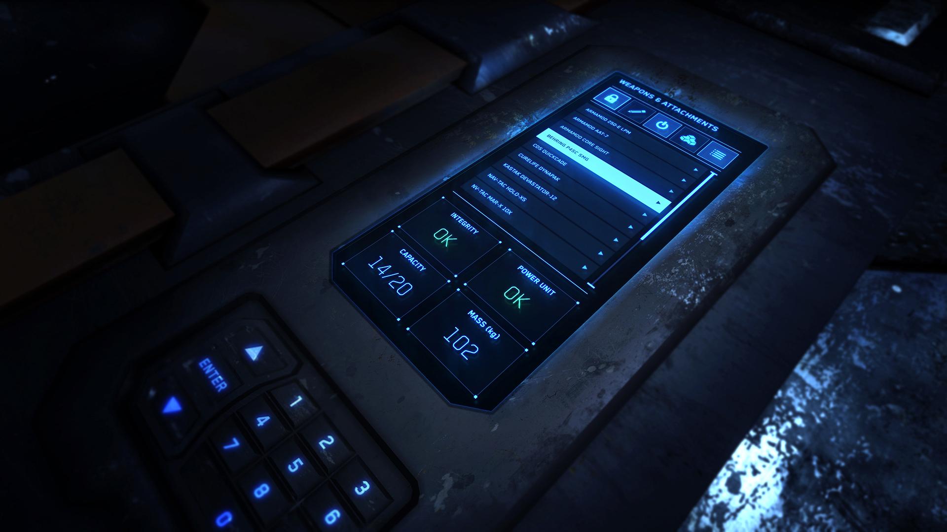 Cargo Box UI