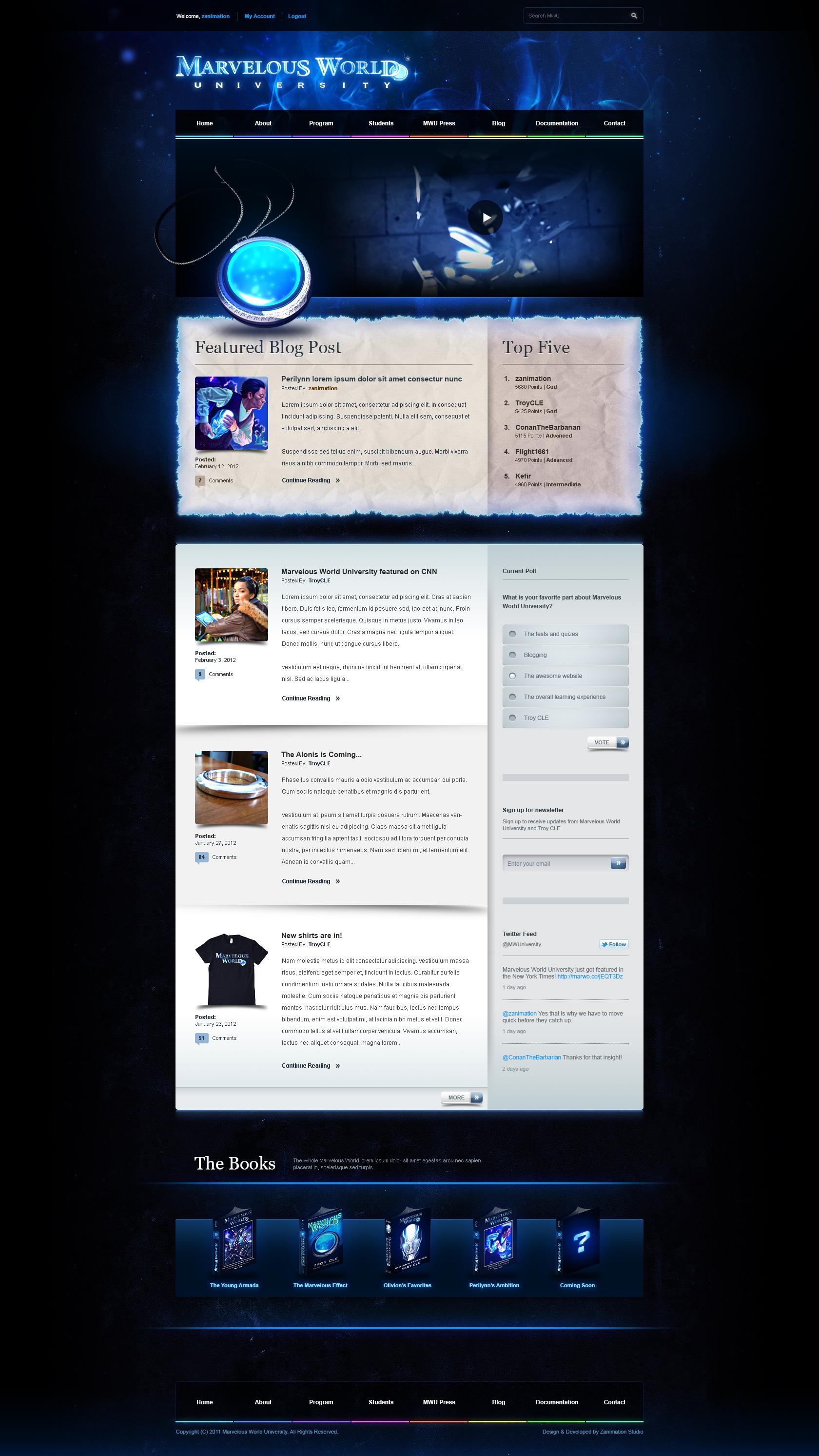 MWU Homepage