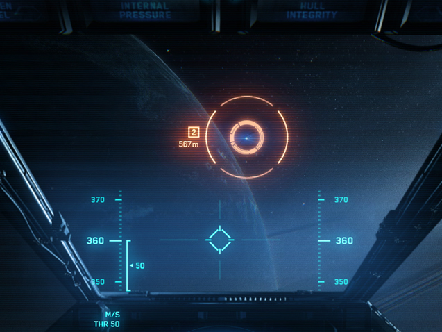 Combat Visor Interface (CVI)